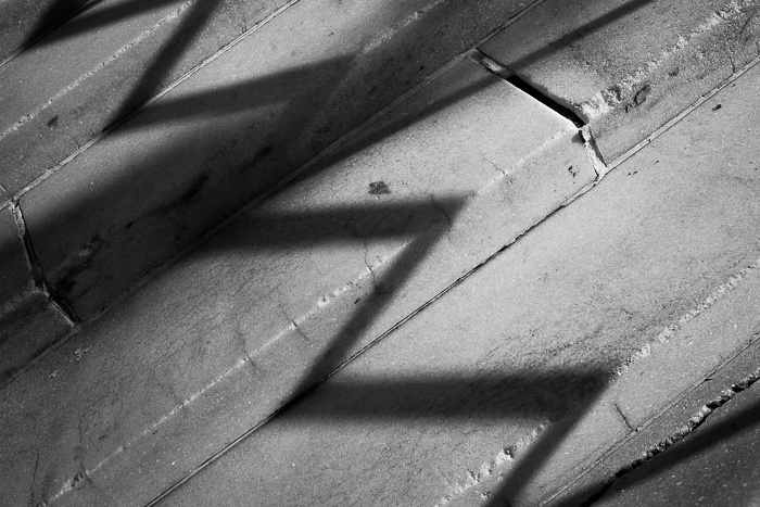Stair and Shadow #2