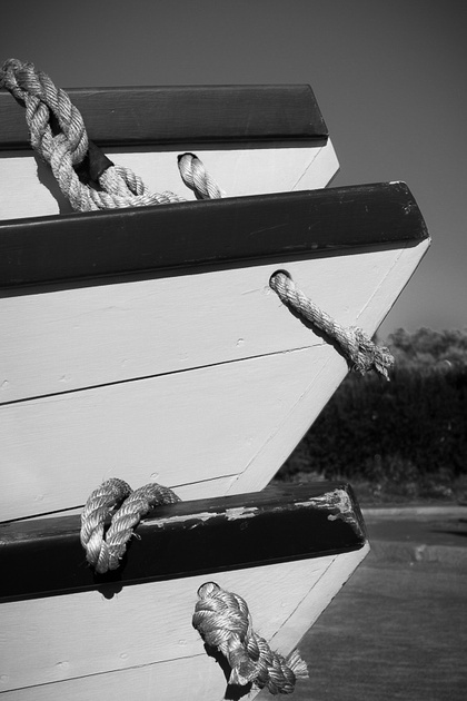 Stacked Boats Mystic CT